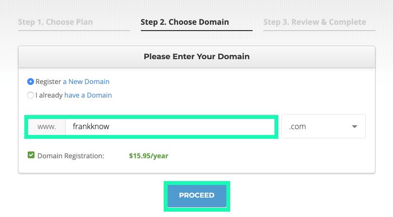 網站製作 :siteground網址申請