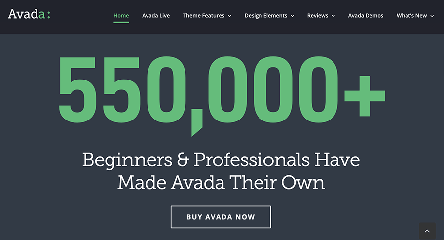 Avada 超熱門銷售