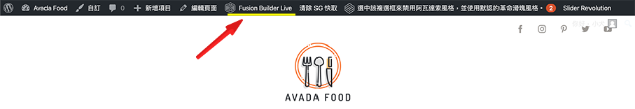 Avada教學 :頭部介紹