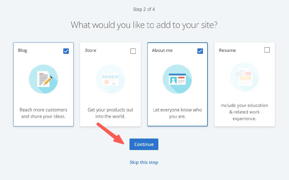 網頁製作教學:bluehost