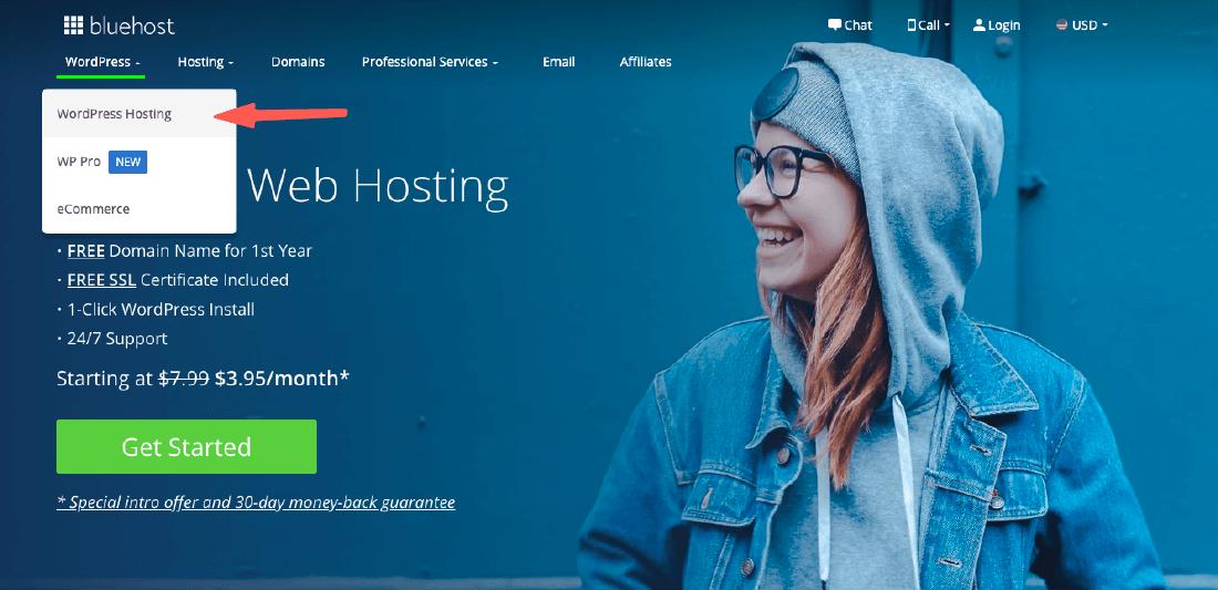 bluehost教學 :wordpress主機+網域申請
