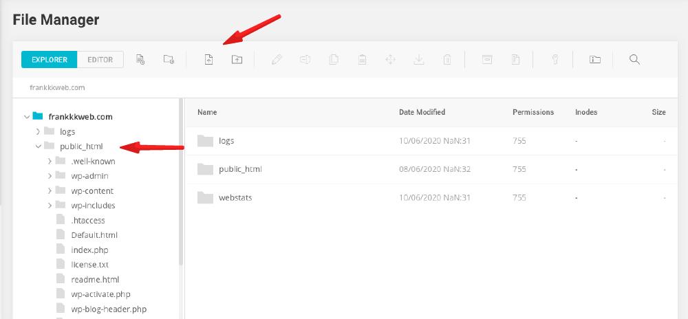 網站製作 :File Manager 檔案管理工具