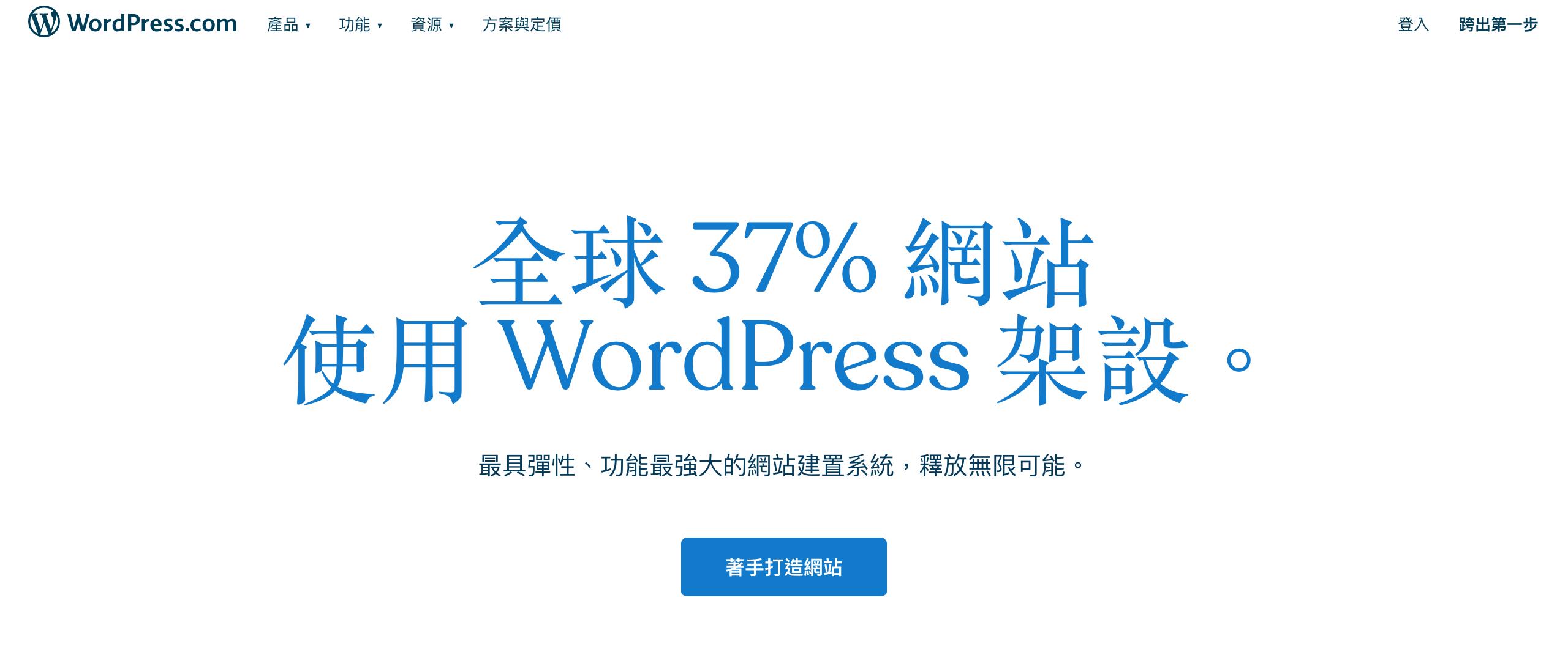 WordPress 網站使用人數