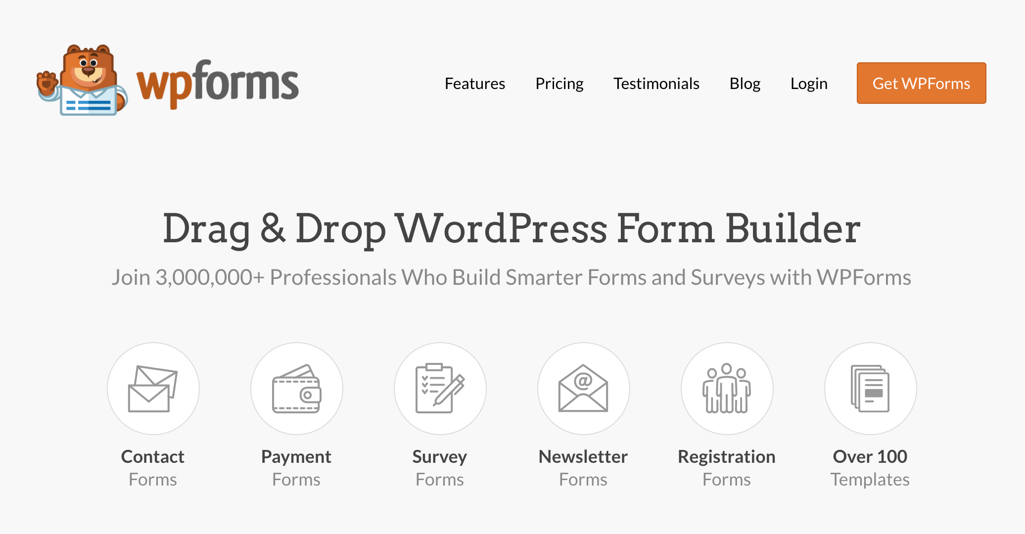 wordpress外掛推薦 :wpforms 表單設計外掛