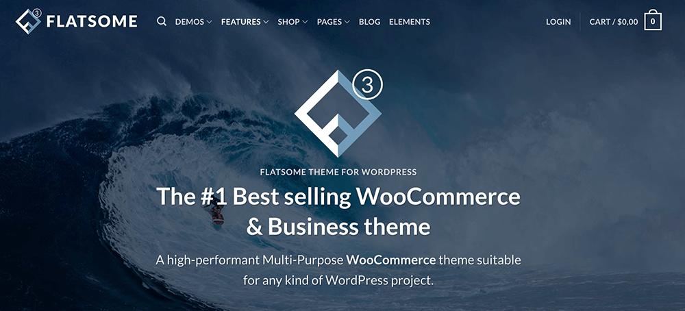 flatsome 主題推薦:WordPress 購物網站主題