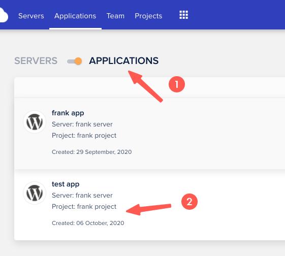 Cloudways 教學:前往安裝完成的 WordPress 資料