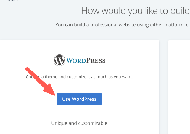 WordPress安裝 :選擇 WordPress 安裝