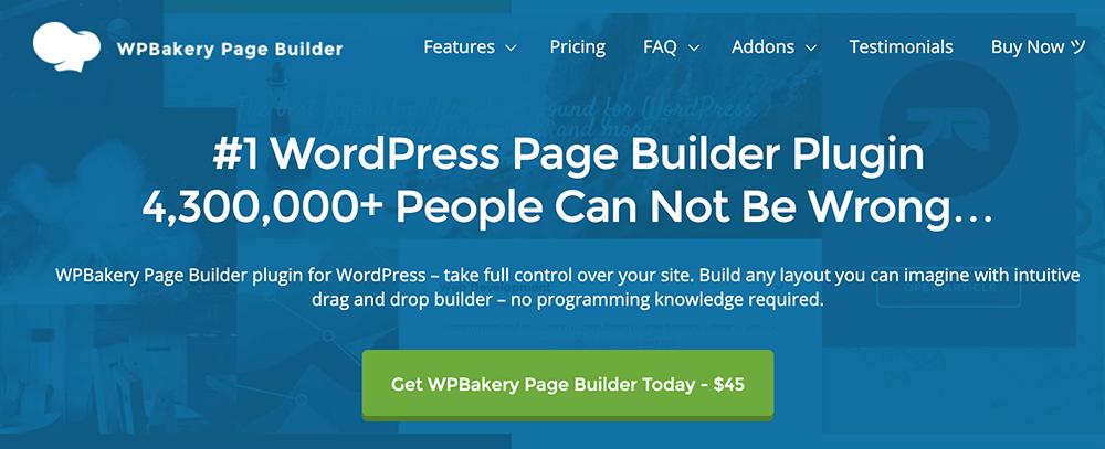 WordPress 頁面編輯器 :WPBakery
