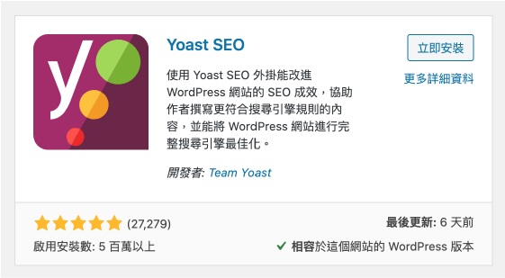 WordPress SEO 外掛 :Yoast SEO 工具推薦