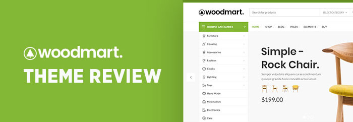 WoodMart 佈景主題介紹
