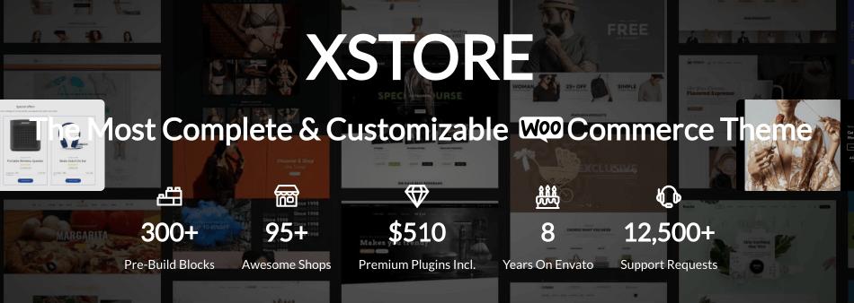 WooCommerce主題 :Xstore 優質主題