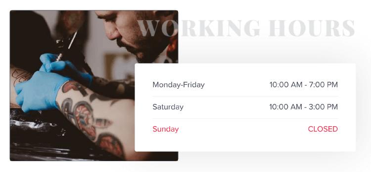 Astra Addons Elementor :Elementor 的 Business Hours 擴充元素