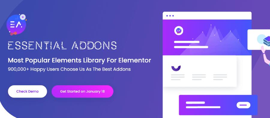 Essential Addons Elementor 外掛