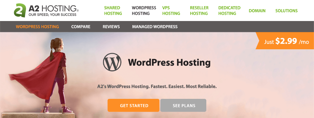 A2 Hosting教學 :前往 WordPress Hosting 主機
