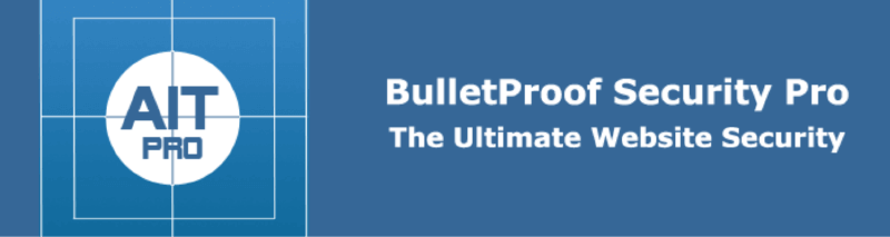 WordPress安全性外掛 :BulletProof Security
