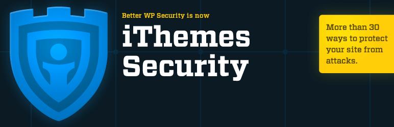WordPress安全性外掛 :iThemes Security 安全性外掛