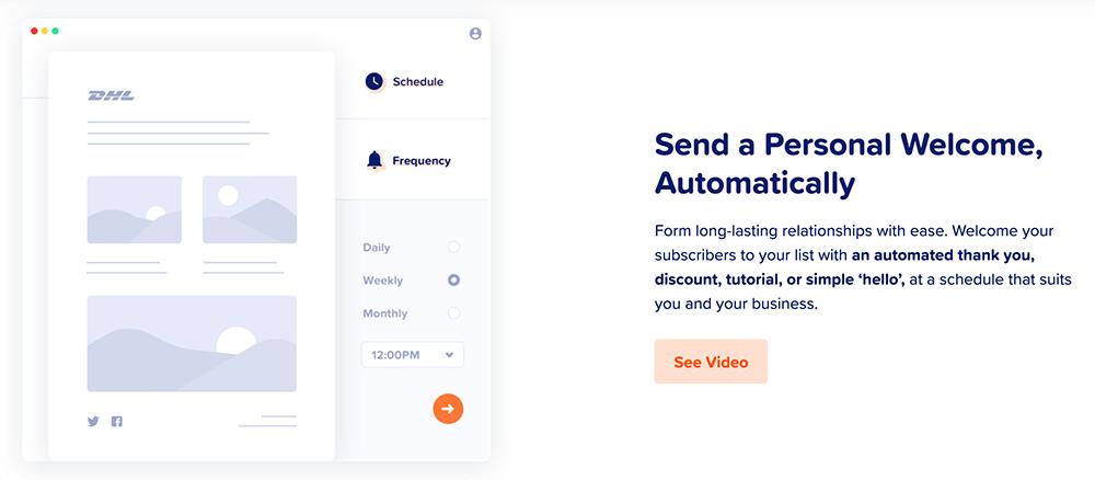 MailPoet 自動發信流程(可設排程)