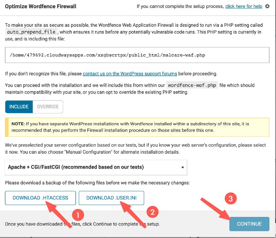 優化 WordFence 防火牆配置