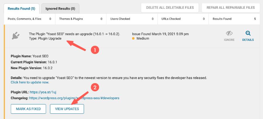 WordFence Security 教學 :依照 WordFence 指示調整內容