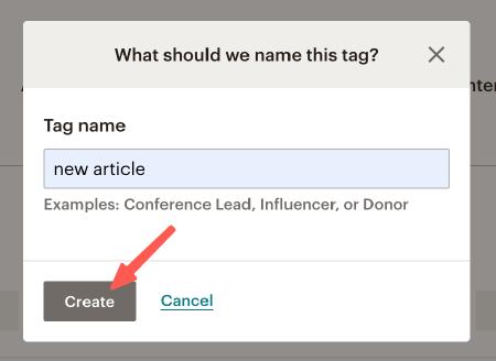 MailChimp教學 :新增 Tag 標籤