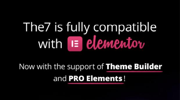 The7 主題推薦:完美兼容 Elementor