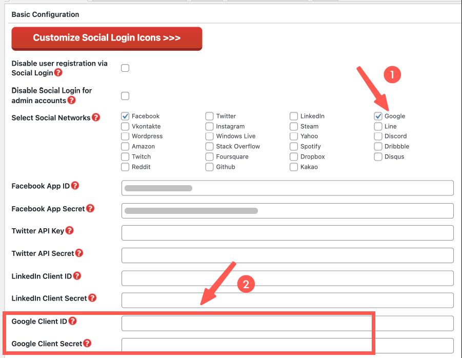 WooCommerce 會員註冊&登入:開啟 Google 快速登入功能