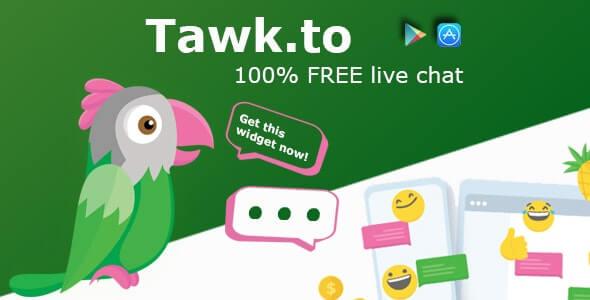 Tawk.To 免費的線上即時客服