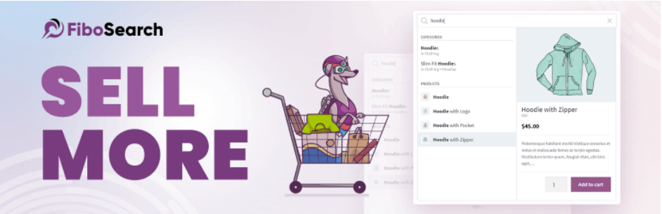FiboSearch WooCommerce 的 Ajax 搜索