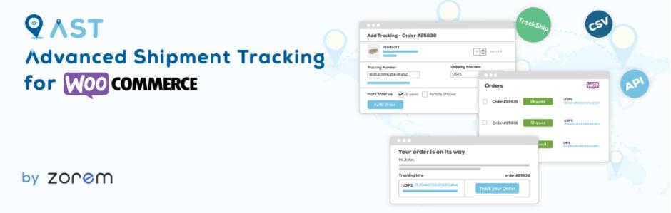 Advanced Shipment Tracking 客戶訂單運送狀態追蹤